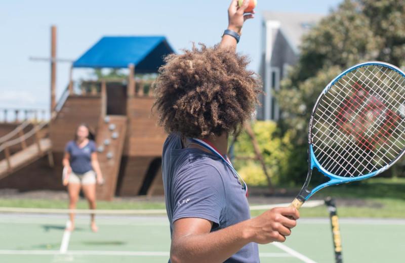 Tennis at Winnetu Oceanside Resort.