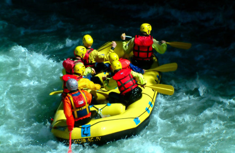Whitewater Rafting near Moab Under Canvas