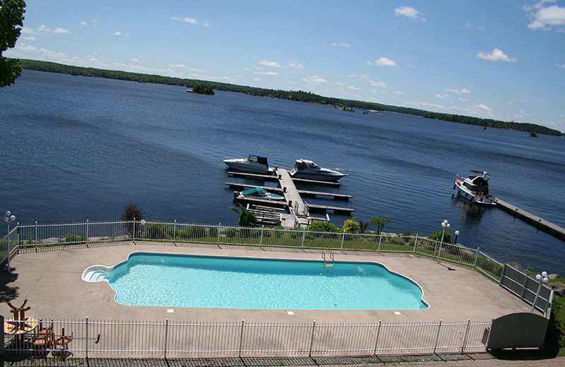 Outdoor Pool at Viamede Conference Resort & Spa