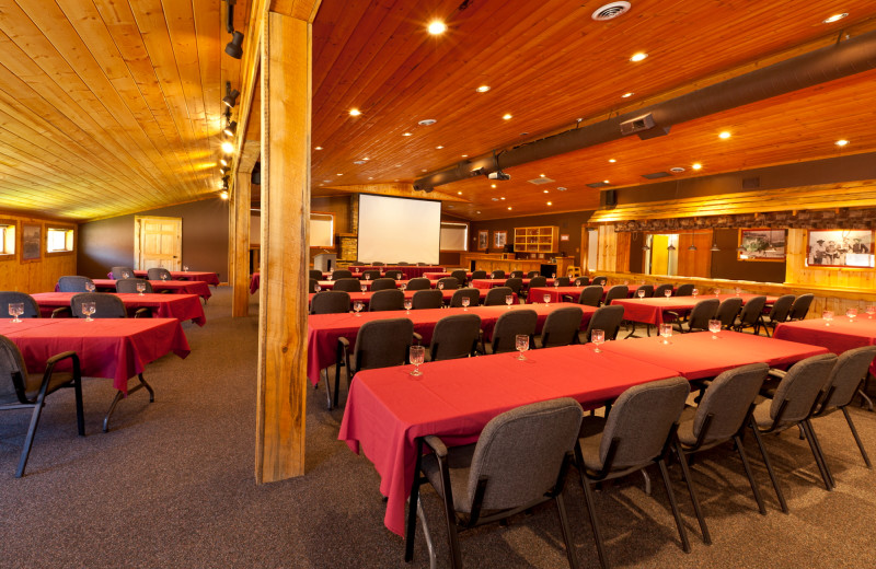 Meeting room at Red Cliffs Lodge.