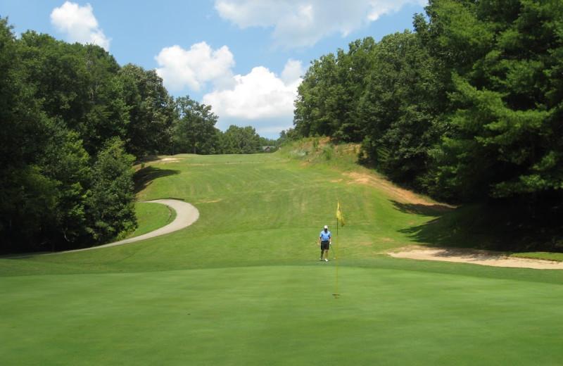 Innsbruck Golf Club near Georgia Mountain Rentals.