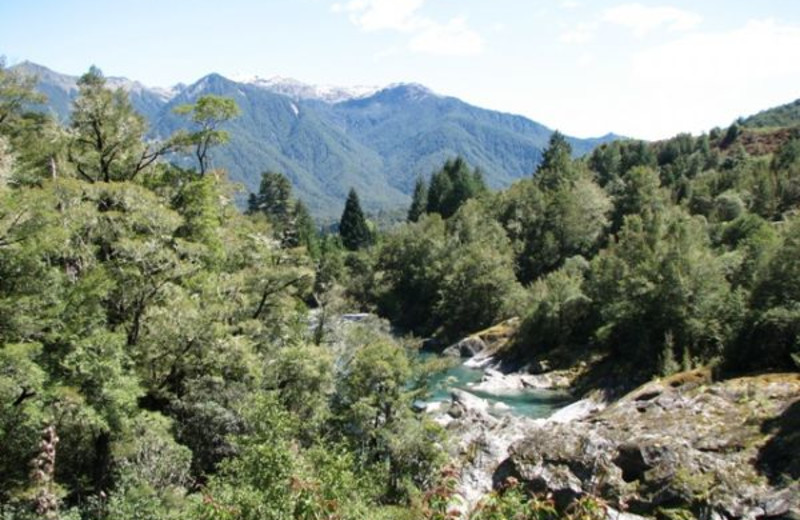 Scenic view at Maruia River Lodge.