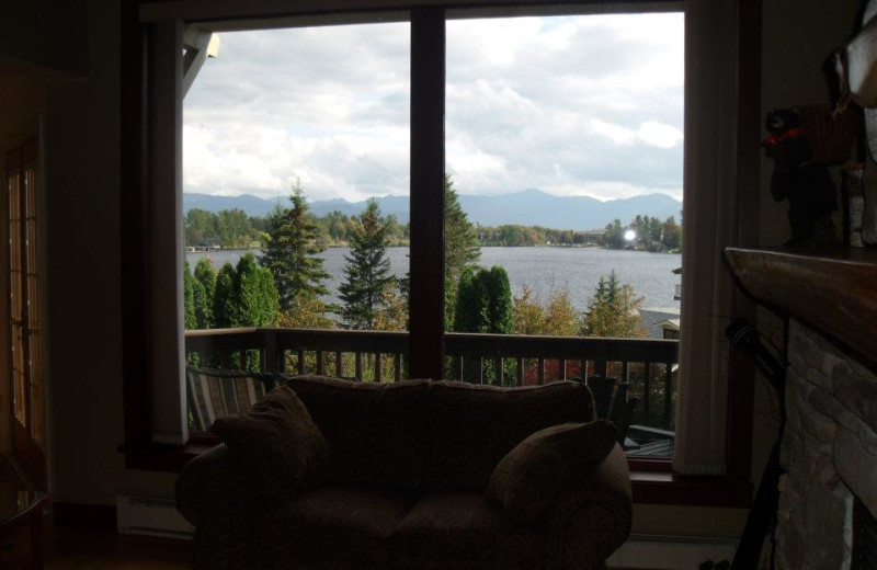 View from Lake Placid Accommodations.
