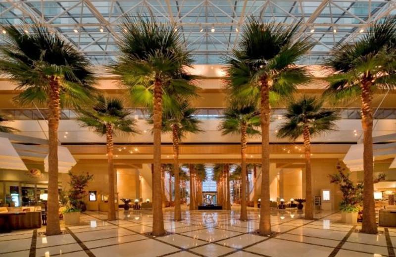 Lobby area at The Westin Diplomat Resort.