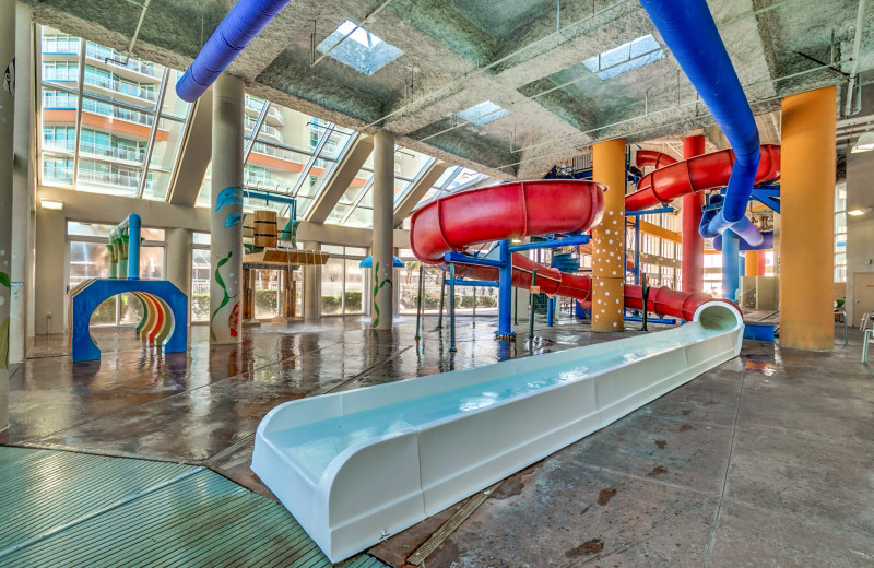 Water park at Dunes Village Resort.