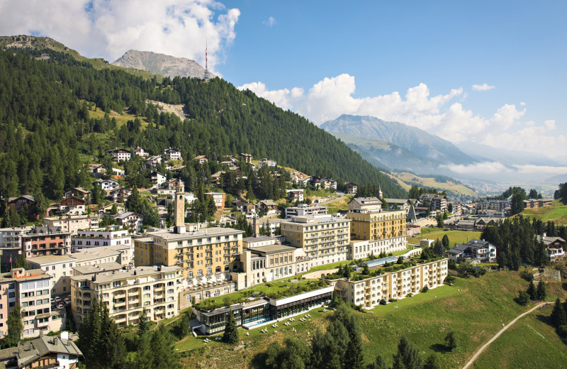 Exterior view of Kulm Hotel.