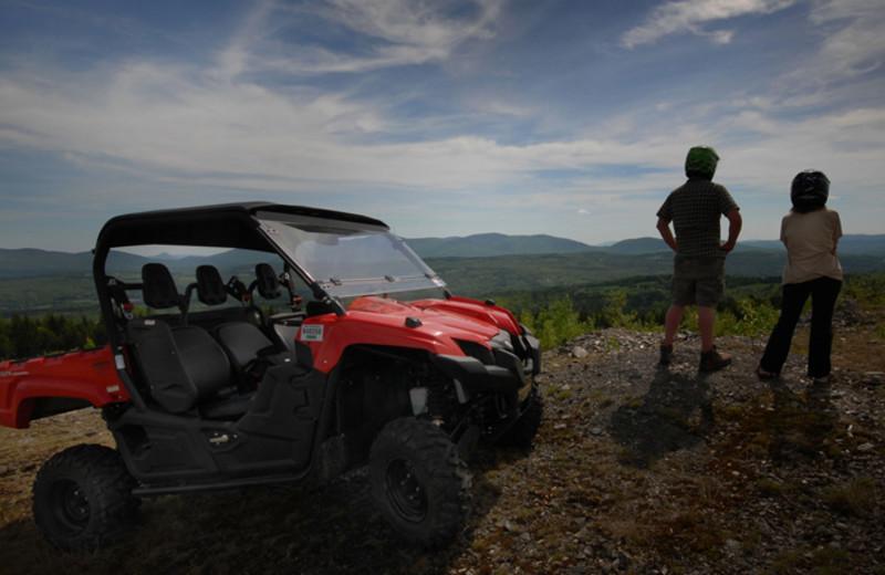 ATV rentals at Cabins at Lopstick.