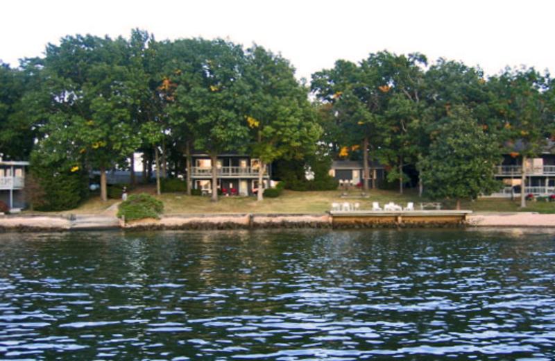 Exterior view of Mallard Point Resort.