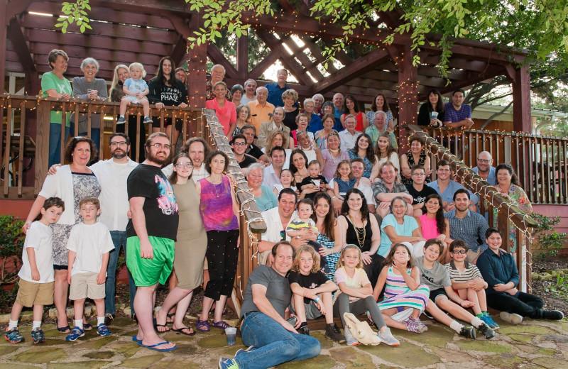 Reunions at Mill Creek Ranch Resort.