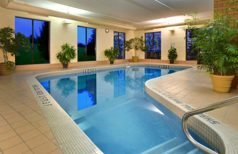 Indoor Pool at Four Points by Sheraton St. Catharines Niagara Suites