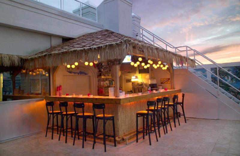 Tiki bar at Empress Hotel.