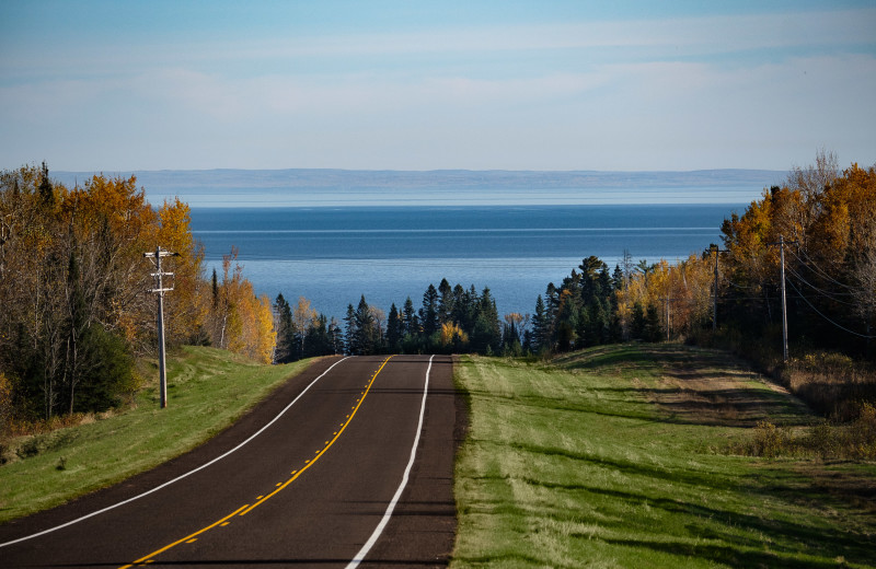 A Short Drive to Lake Superior at Northern Rail Traincar Inn