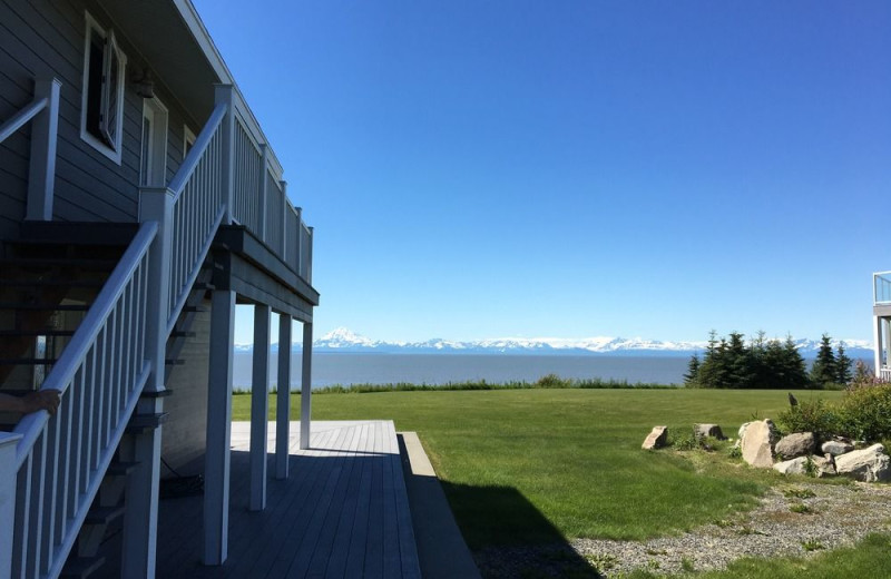 Exterior view of Jimmie Jack's Alaska Fishing Lodges.
