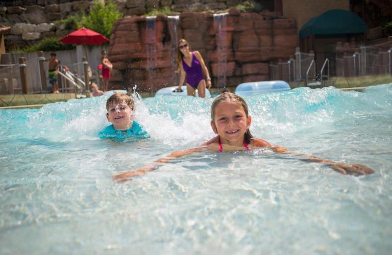 Wave pool at Chula Vista Resort.
