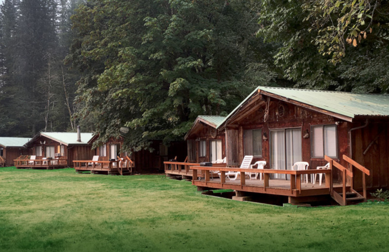 Cabins at Glacier Peak Resort.