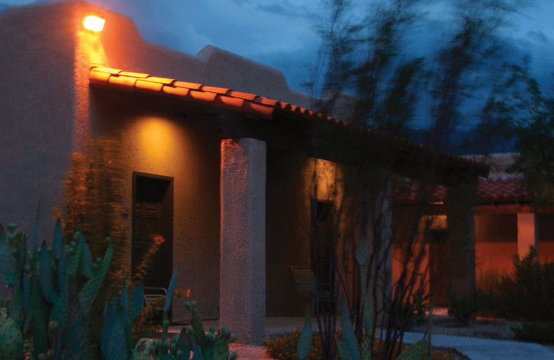 Exterior view of Canyon Ranch Tucson.