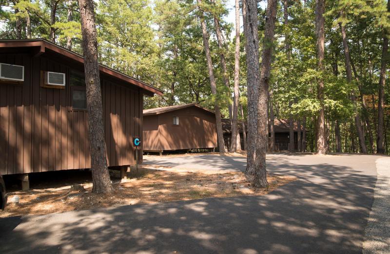 Cabins at Brady Mountain Resort & Marina.