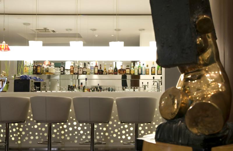 Bar at Sorat Art'otel Berlin.
