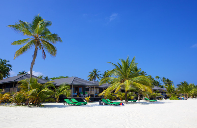 The beach at Kuredu.