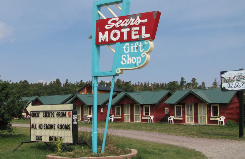 Exterior view of Sears Motel.