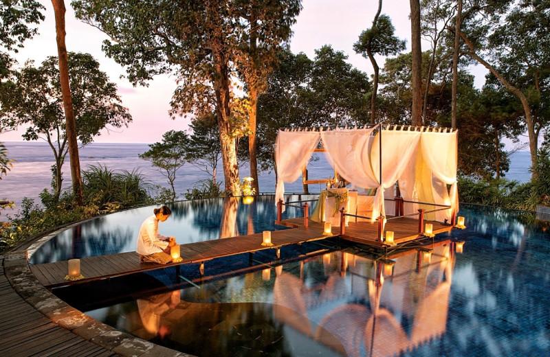 Pool at Banyan Tree Bintan.