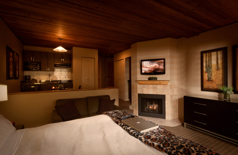 Guest room at Executive Inn at Whistler Village.