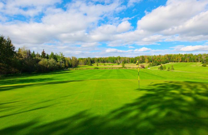 Red Lake Golf course near Sandy Beach Lodge.