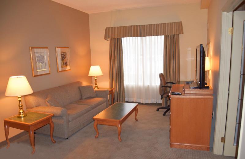 Guest room at Stone Gate Inn.