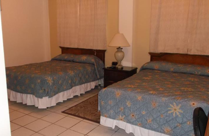Guest room at Manatee Eco Resort.