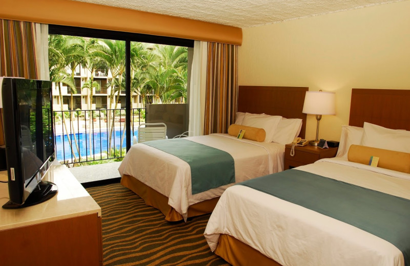Guest room at Hotel Irazu.