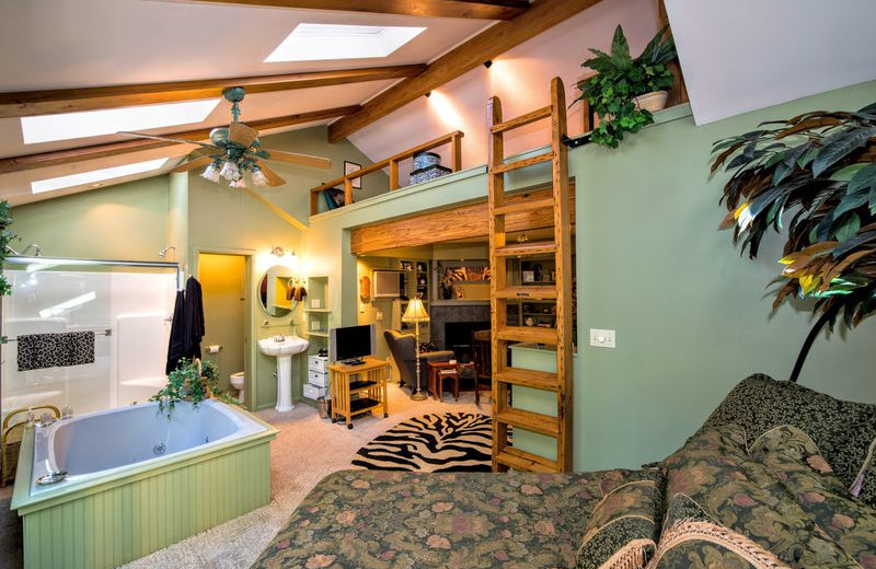 Rental interior at Amazing Branson Rentals.
