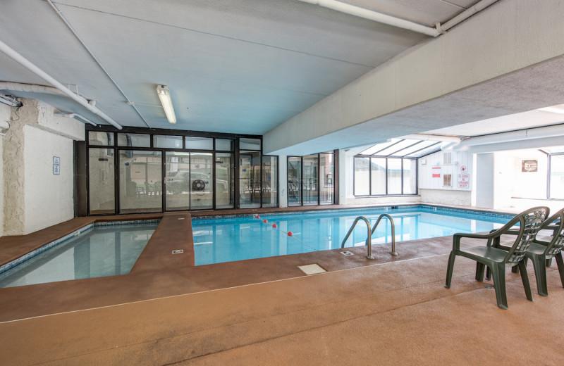 Pool at Oak Square Condos.