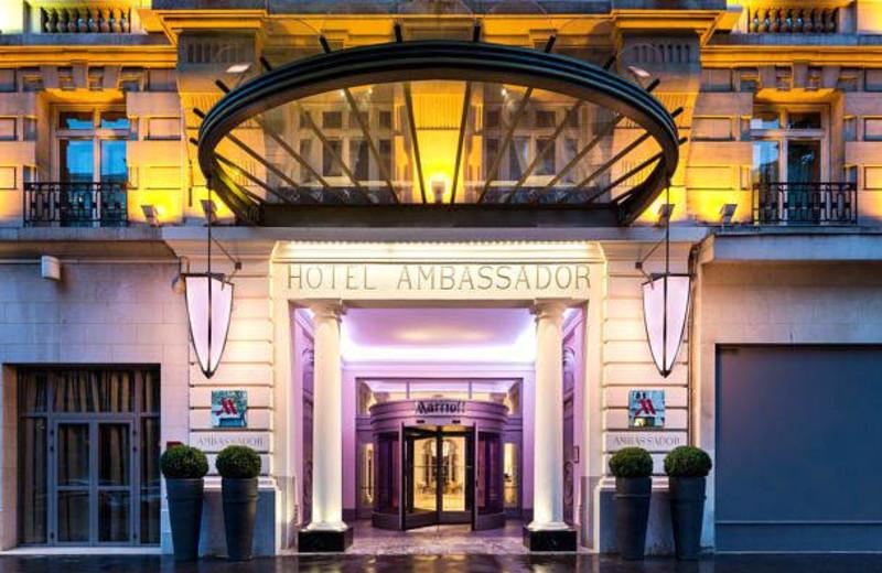 Exterior view of Hotel Ambassador.