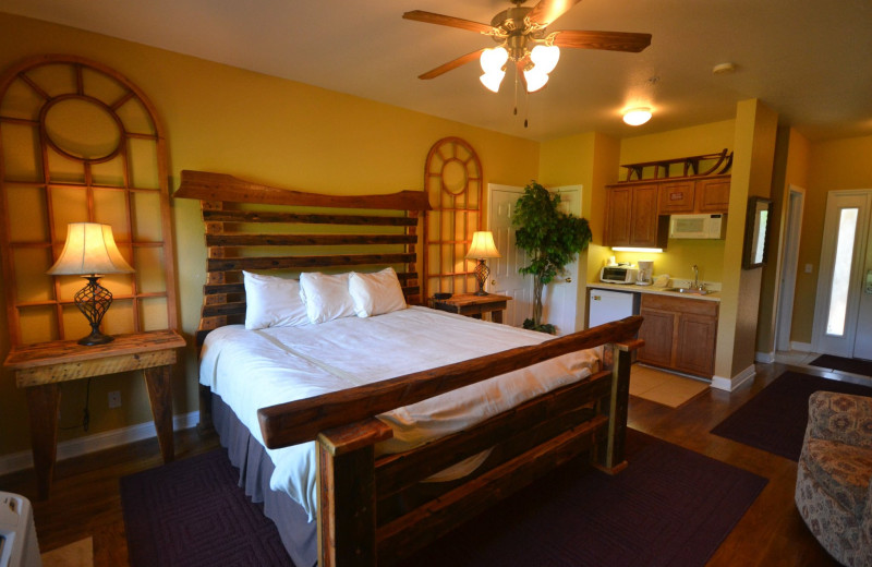 Guest room at Stonebridge Resort.