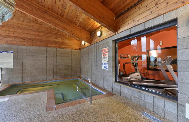 Hot tub at AmericInn by Wyndham.