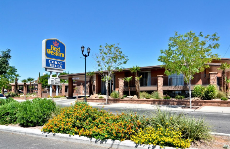 Exterior view of Best Western Coral Hills.