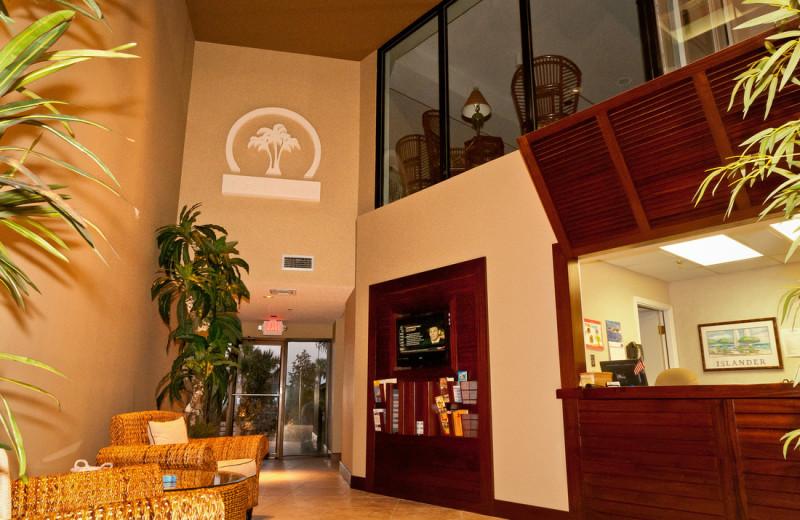 Lobby at The Islander in Destin.