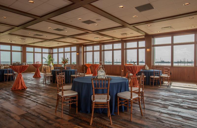 Luxury dining at Charleston Harbor Resort