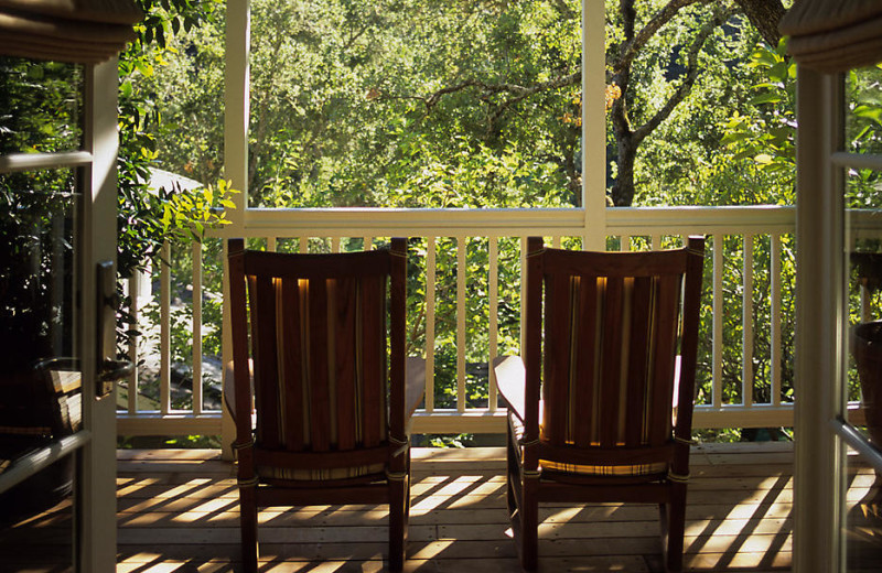 Relaxing view at Meadowood Napa Valley.
