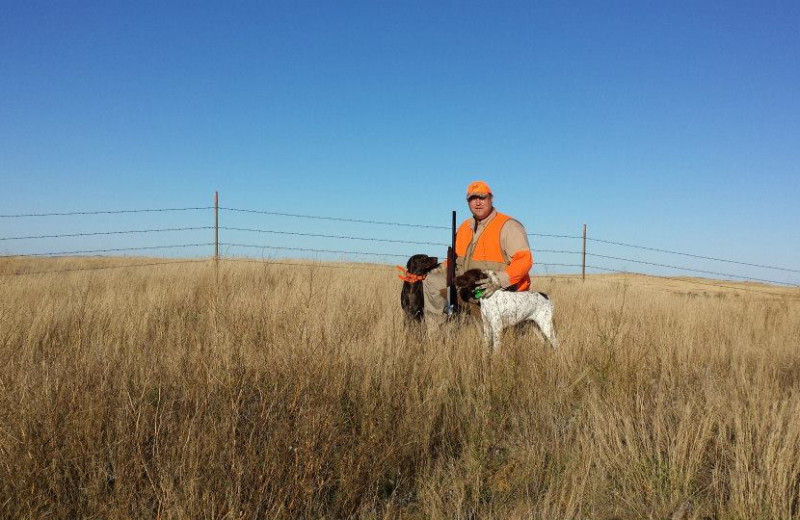 Hunting at North Cedar Creek Farm.