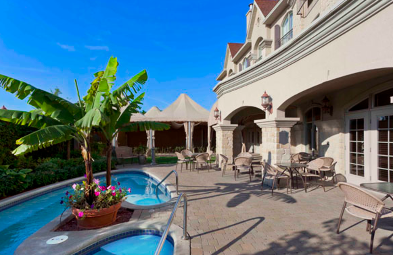 Outdoor pool at Le St-Martin Hotel & Suites.