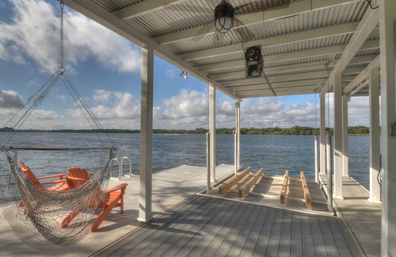 Dock at Lake Haus.
