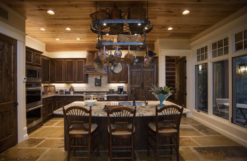 Guest kitchen at Joshua Creek Ranch.