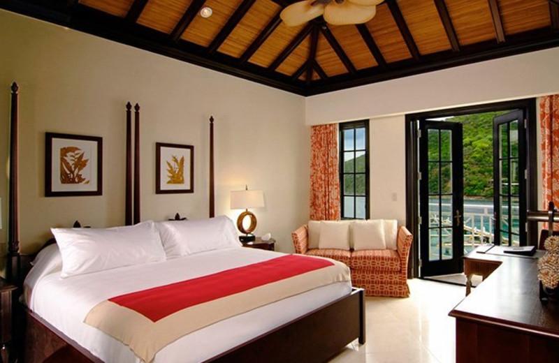 Guest room at Mainsail Scrub Island.