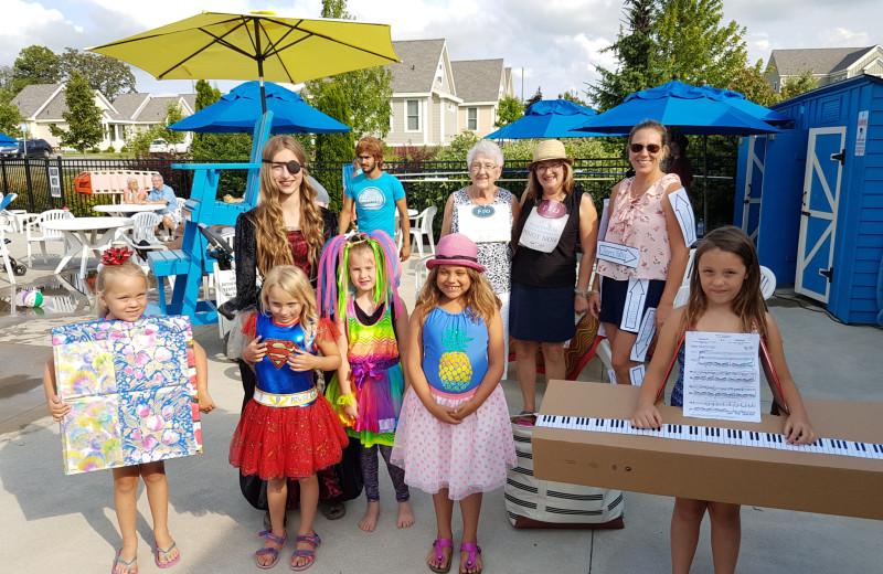 Groups at Sandbanks Summer Village Cottage Resort.