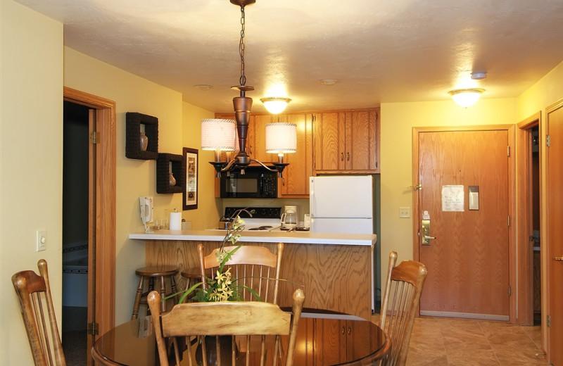 Guest kitchen at Newport Resort.