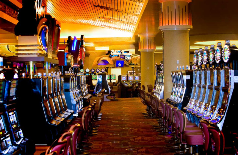 Slot machines at Sky Ute Casino Resort.