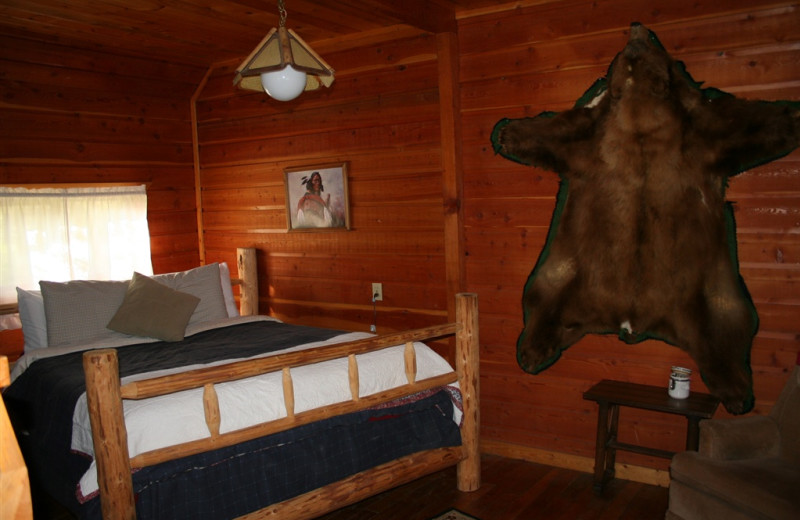King Bed at Bear Creek Ranch