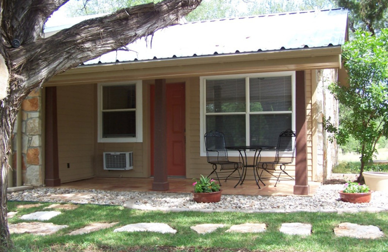 Exterior view of Spicewood Cottage by Lake Travis.