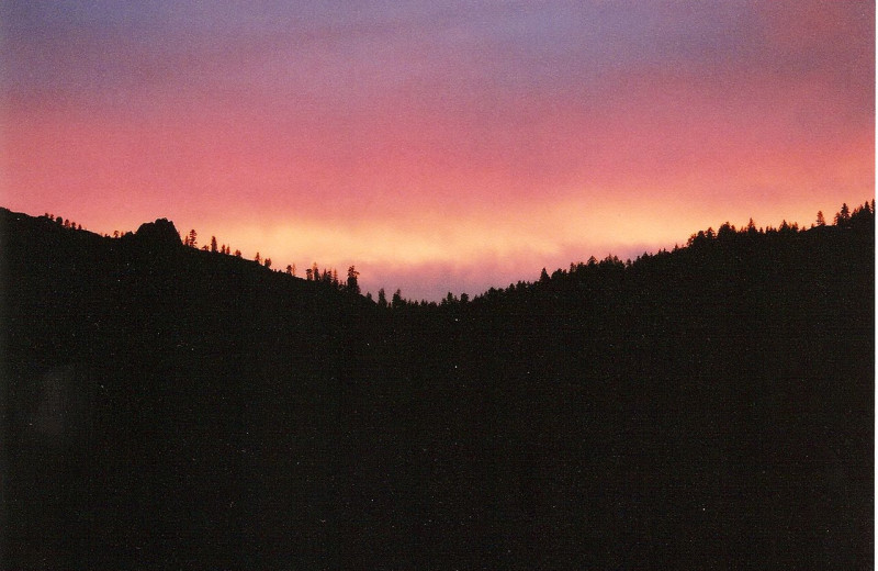 Beautiful Sunset at Silver Creek Plunge
